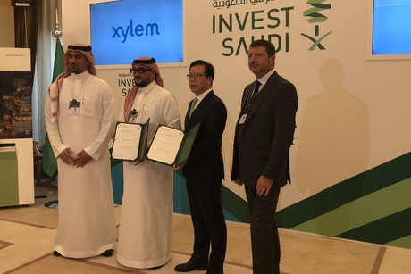 Saudi's SAGIA, Xylem ink $50m MoU to address water challenges