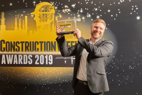 CW Awards 2019: ALEC's Sean McQue wins Construction Executive of the Year