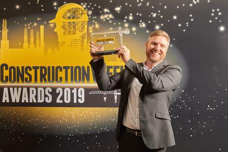 CW Awards 2019: ALEC's Sean McQue wins Construction Executive of the Year