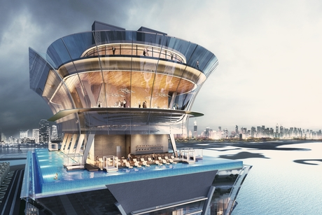 Sunset Hospitality Group to launch AURA Skypool at The Palm Tower