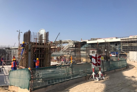 PICTURES: Progress made on Expo 2020 Dubai's Luxembourg Pavilion