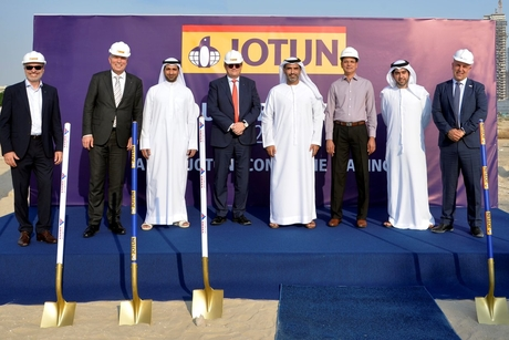 Jotun breaks ground on R&D hub in Dubai Science Park with Tecom