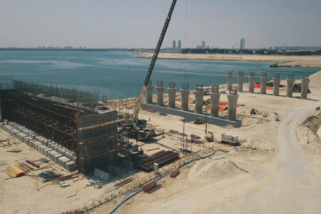 PICTURES: ITC, Musanada's Umm Lafina project 60% complete