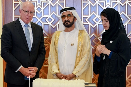 Dubai Ruler briefed on Expo 2020 Dubai's Aussie Pavilion design