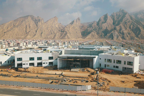 Musanada notes 58% completion on Jebel Hafeet School in Al Ain