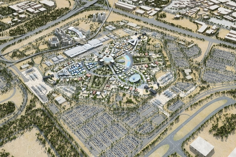 Progress on Expo 2020 Dubai country pavilions in Dubai South