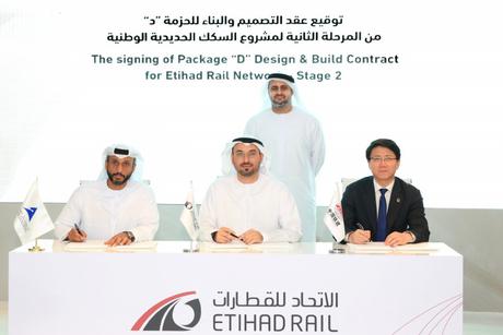 CRCC, NPC win $1.3bn Etihad Rail Package D civil works contract