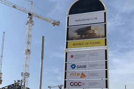 Construction begins on the Polish Pavilion at the Expo 2020 Dubai site