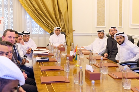 Fujairah Ruler briefed on latest developments of UAE's Etihad Rail