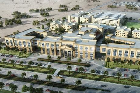 Work on Abu Dhabi University's $82m Al Ain campus 75% complete