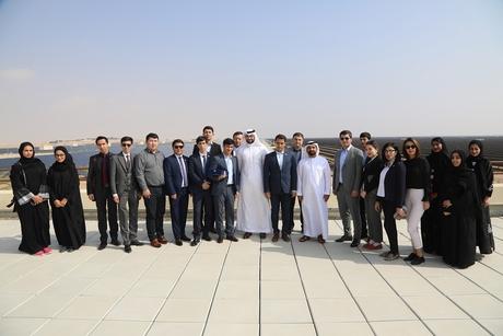 UAE's DEWA receives team from Uzbek ministry at MBR Solar Park