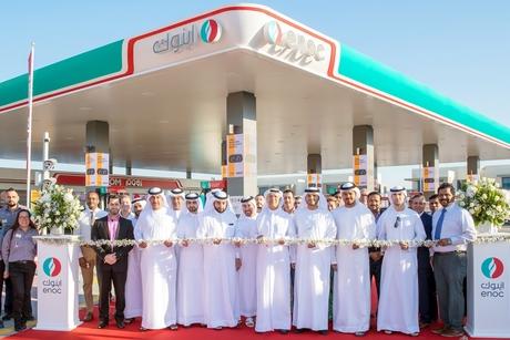 ENOC opens solar panels-equipped stations in Dubai Hills, Lehbab