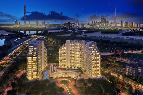 Construction progress hits 35% at Azizi Developments' Creek Views