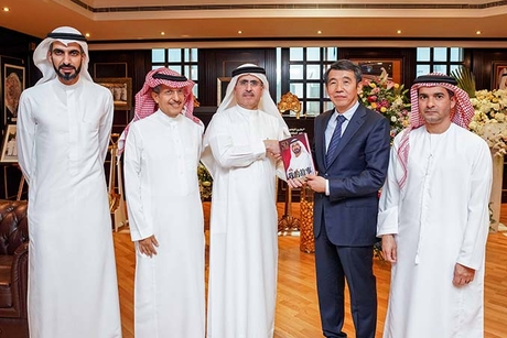 DEWA discusses collaboration with the Chinese Silk Road fund