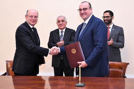 Masdar inks deal to construct 220MW solar PV plant in Azerbaijan