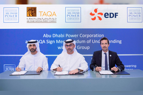 ADPower, TAQA, EDF ink MoU to develop training for Emiratis