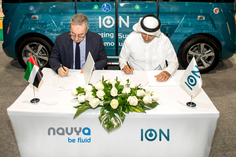 ION, Navya ink partnership to boost autonomous transport in the GCC