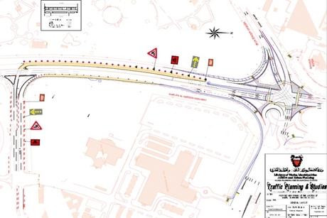 Bahrain improving lanes on Khalifa Al Kabeer, Zallaq highways