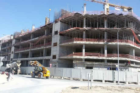 UAE FM firm Farnek's 9,300m2 staff accommodation hits 65% milestone