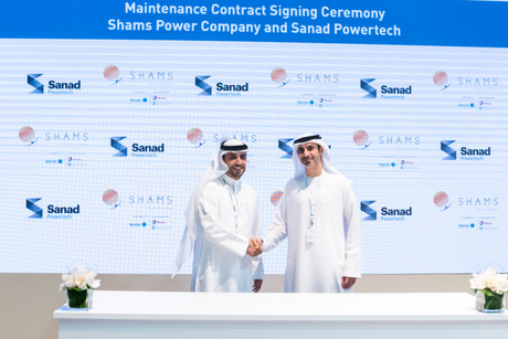Shams Power Company awards MRO contract to Sanad Powertech