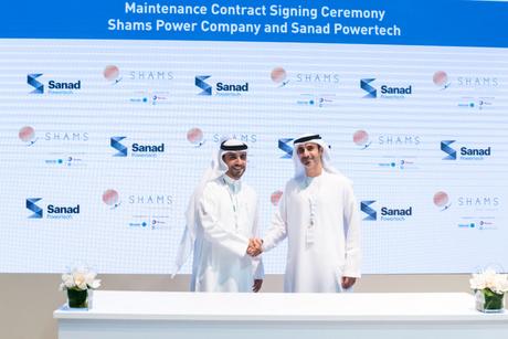 Shams Power Company awards MRO contract to Sanad Powertech