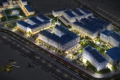 PICTURES: Construction begins on Egypt's $1.1bn medical city in Cairo