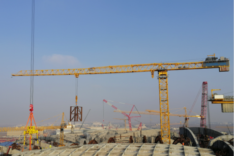 China supplies tower cranes for $4.3bn Kuwait Int'l Airport T2