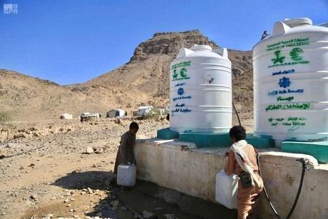 Saudi's KSRelief develops water, sanitation projects in Hodeidah
