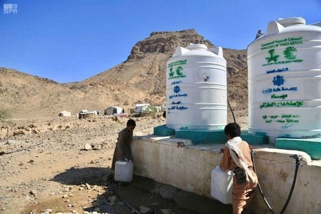Saudi's KSRelief develops water, sanitation projects in Hodeidah