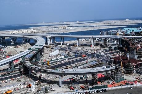 Construction on bridges leading to Deira Islands 75% complete