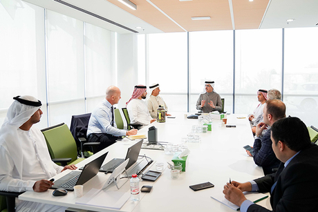 Dubai Future Council on Energy reviews DEWA, R&D Centre projects