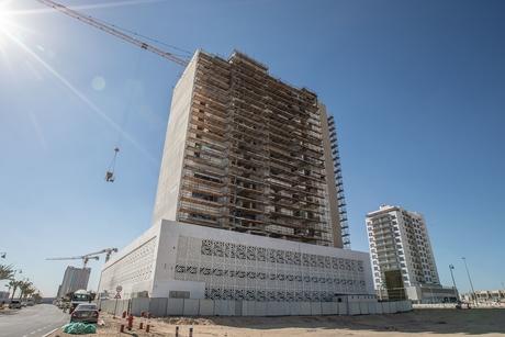 Azizi Developments' 12-storey Shaista in Al Furjan 75% complete