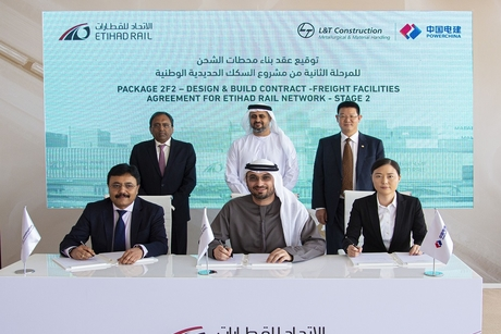 Etihad Rail awards Package A Stage 2 contract to Power China, L&T