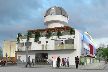 Danish Business Pavilion at Expo 2020 Dubai is 30% complete