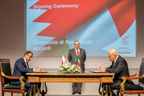 Eni, Bahrain's Tatweer collaborate for renewable energy, LNG projects