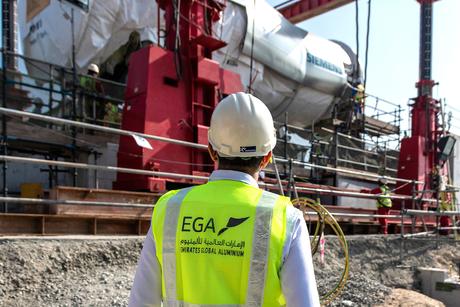 UAE's EGA installs Siemens H-class gas turbine at Jebel Ali facility