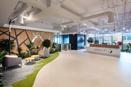 Summertown Interiors completes 'green' fit-out for Sanofi