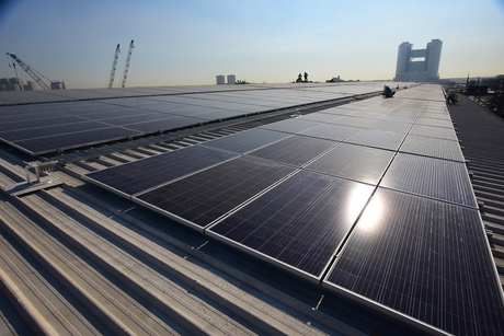 """""""Installing solar panels on a warehouse is financially beneficial"""""""