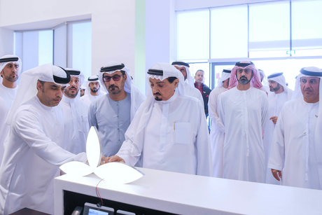 Ajman Ruler unveils 'e-stone', opens ADVETI branch of Abu Dhabi's FCHS