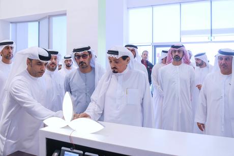 Ajman Ruler unveils 'e-stone', opens ADVETI branch of Abu Dhabi's FCHS