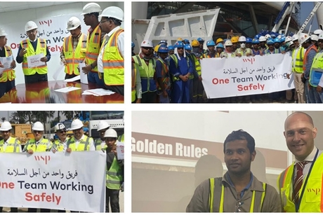 "WSP launches ""industry-first"" #OneTeamWorkingSafely initiative"