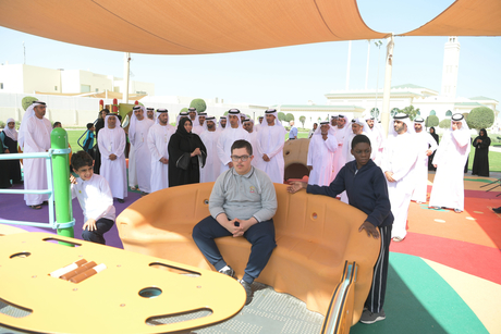 VIDEO: Park for people of determination opens in Khalifa City