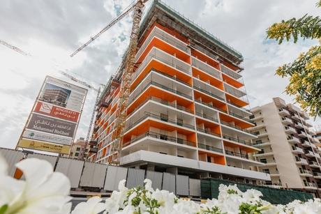 Construction on Binghatti Platinum in Dubai Silicon Oasis 90% complete