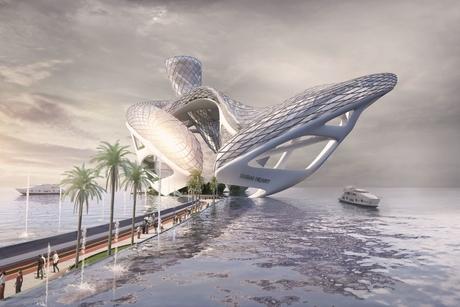 PICTURES: Nad Al Shiba's design for 'Dubai Heart' on Jumeirah Beach