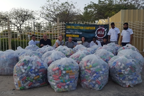 EEG's Can Collection saves 5,235kg of aluminium cans from landfills
