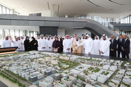 HH Dr Sheikh Sultan opens Madar at Arada's $6.5bn Aljada in Sharjah