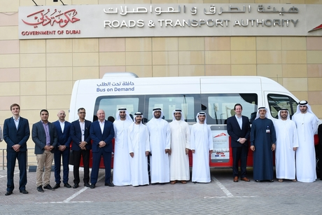 RTA launches on-demand bus service in several Dubai areas