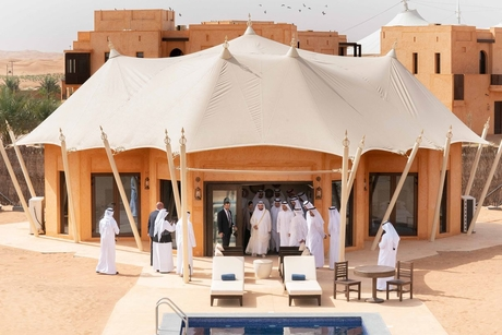 PICTURES: Sharjah Ruler visits Al Badayer, Al Faya retreats