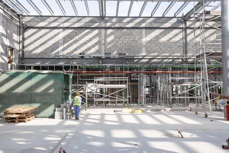 Construction of Expo 2020 Dubai's French Pavilion 48% complete