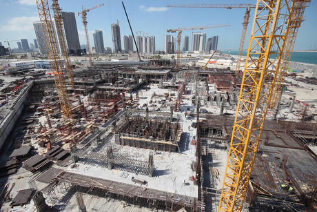 Abu Dhabi's IMKAN Pixel project completes concrete substructure